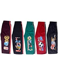Krystle Boys 3/4th Cotton Capri Kids Shorts Pack of 5 with Five Different Colours