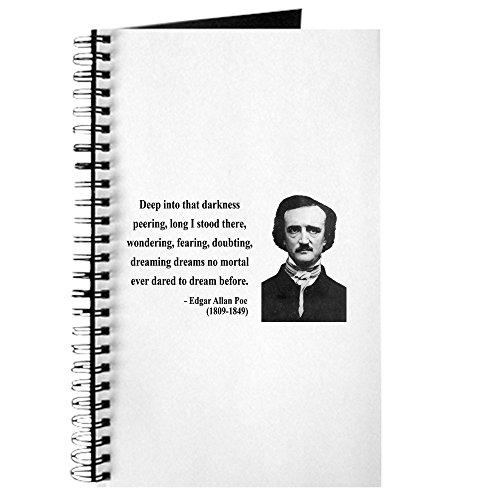 CafePress - Edgar Allan Poe 5 - Spiralgebundenes Tagebuch, persönliches Tagebuch, blanko