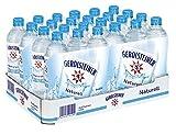 Gerolsteiner Naturell / Natürliches Mineralwasser ohne Kohlensäure / Geeignet für eine natriumarme Ernährung / 24 x 0,5 L PET Einweg Flaschen