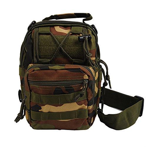 Molie 28cmx20cmx10cm Sport Outdoor Military Rucksacks Tactical Backpack Camping Hiking Trekking Bag Camouflage