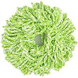 Lalang Têtes de rechange pour balais-serpillères Mop, 360 ° degrés de rotation Tête, Vert