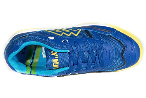 Agla Professional Condor Light Scarpe Outdoor Calcio Indoor Futsal Con Anti-shock Blu