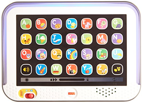 Fisher Price Laugh and Learn Smart stages Tablet, Multi Color  available at amazon for Rs.1035