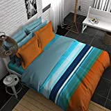 Boutique Living India H2O 400TC Sateen Printed King Size (274 cm x274 cm) Bedsheet with 2 Pillow Covers