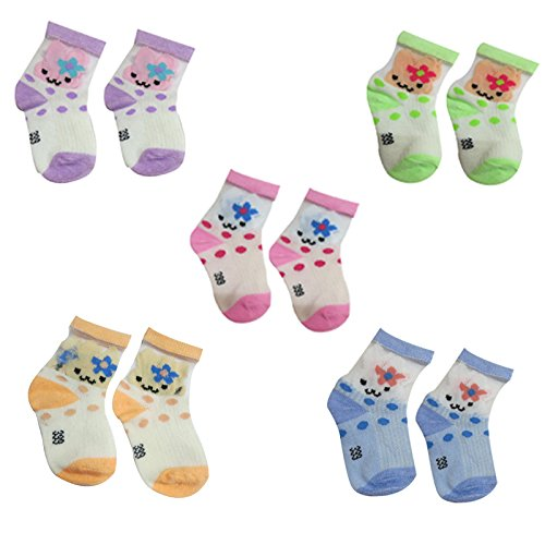 DCS Soft cotton socks for Baby (6-12Months) ( Pack of 5 pair )