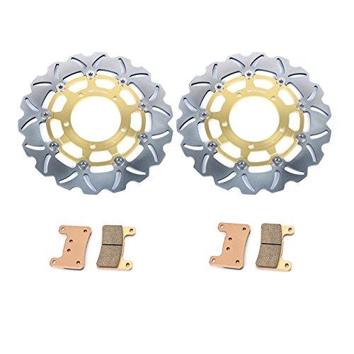 TARAZON 2 Disques de frein Avant et Plaquettes pr GSXR 600 750 06 07 GSXR1000 05 08