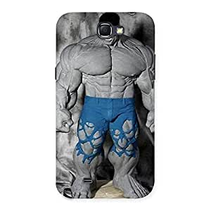 Blue Big Guy Back Case Cover for Galaxy Note 2