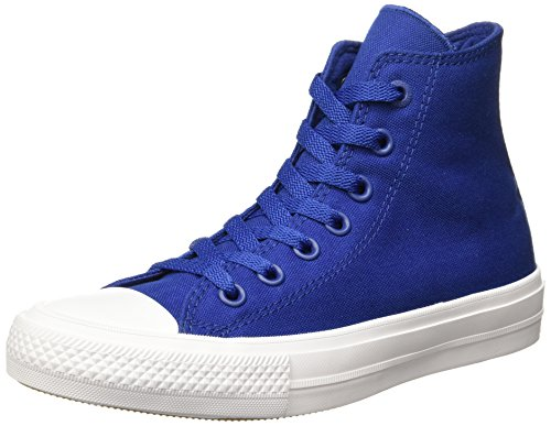 Converse Unisex-Erwachsene Sneakers Chuck Taylor All Star II C150148 High-Top Blau(Blue)