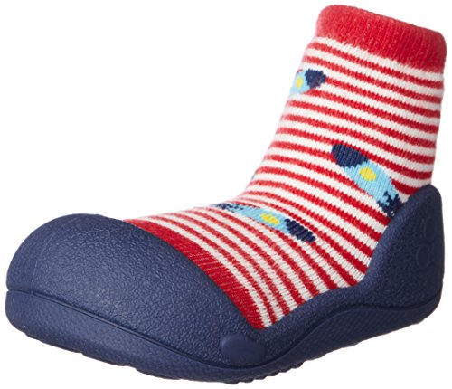 Attipas AUF0203, Zapatos primeros pasos, color rojo