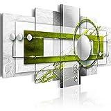 murando - Bilder 200x100 cm - Vlies Leinwandbild - 5 Teilig - Kunstdruck - Modern - Wandbilder XXL - Wanddekoration - Design - Wand Bild - Abstrakt a-A-0140-b-o