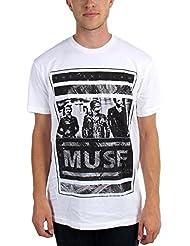 Muse–para hombre camiseta de bloque de Fotos