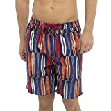Mens Colourful Patterned Swim Shorts Swimming Beach Holiday Surf Trunks Swimwear