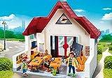 Playmobil 6865 + 6866 City Life 2er Set – Schulhaus und Schulbus - 2