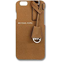 Fashion MK Logo Luxury Michael Kors Phone Case Cover For Iphone 6 & Iphone 6s_(Brown Series)