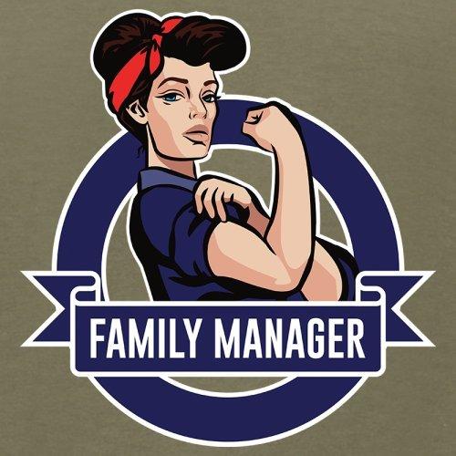 Familien Manager - Herren T-Shirt - 13 Farben Khaki