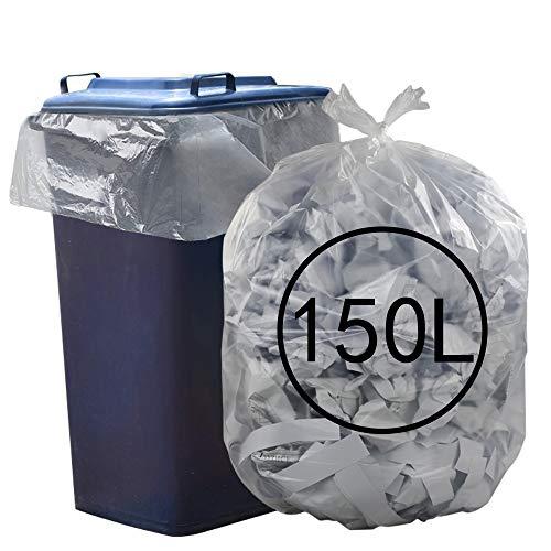 Ucake Bolsas de Basura Transparentes de 39 galones
