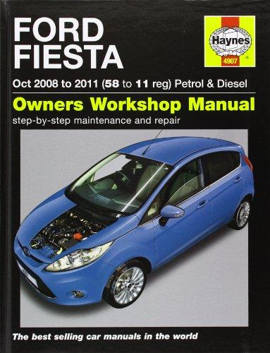 Ford Fiesta Petrol & Diesel Service and Repair Manual: 2008 to 2011 (Service & repair manuals)