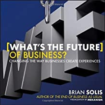 What's the Future of Business: Changing the Way Businesses Create Experiences by Solis, Brian (2013) Hardcover