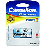 Pile photo Camelion CR17345 1 lot, 3V, Lithium-Batterien [ Piles pour appareil photo ]