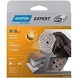 Norton Lot de 5 Disques Pex auto-agrippants expert Diamètre 125 Grain 180 multi air
