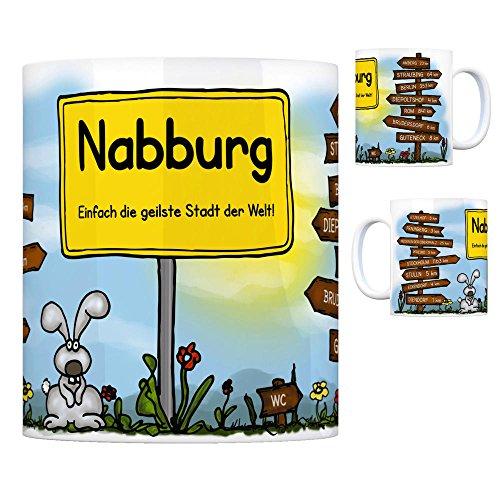 Nabburg - Einfach die geilste Stadt der Welt Kaffeebecher gebraucht kaufen  Wird an jeden Ort in Deutschland