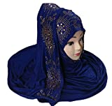 Justkartit Dark Blue color desert scarf 2017  latest party wear headscarf for all ages  fashionable stoles 2017 collections  womens winter wear hijab dupatta 2017  long soft cotton