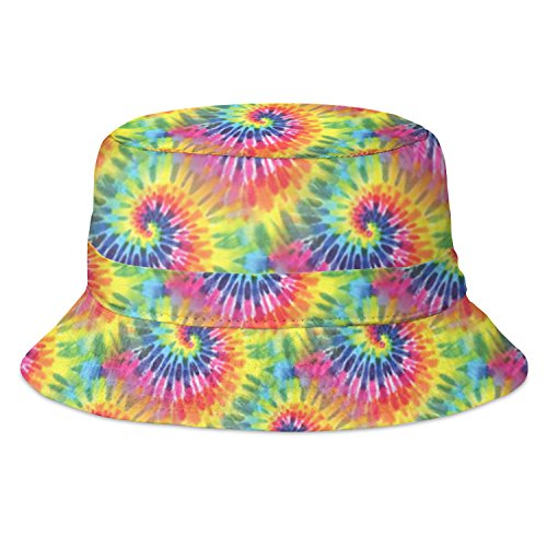 Tie Dye Psychedelic Acid House Bucket Hat