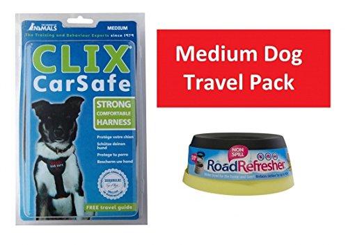 medium-dog-travel-pack-clix-auto-geschirr-medium-road-refresher-klein