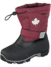 Indigo Canadians 467-185 Kinder Winter Stiefel Boots gefüttert in Berry