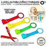 Best Cuna Chupetes - O³ Anillas Para Cunas Y Parques 4 Unidades Review