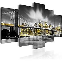 murando - Cuadro en Lienzo 200x100 cm - New York - Impresion en calidad fotografica - Cuadro en lienzo tejido-no tejido - Ciudad 030102-24