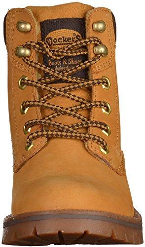 Dockers 330812-007020, Stivali donna Giallo (Golden Tan)