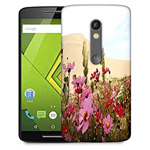 Snoogg Green Leaves Designer Protective Phone Back Case Cover For Moto G 3rd Generation