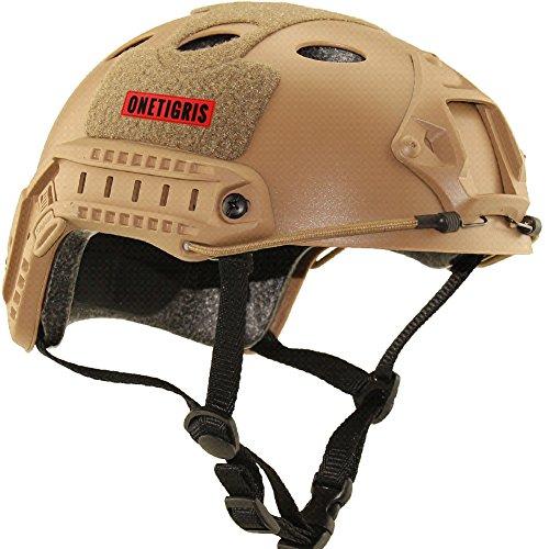 onetigris-casco-fast-di-protezione-del-tipo-pj-tattico-militare-per-softair-senza-gli-occhiali-marro