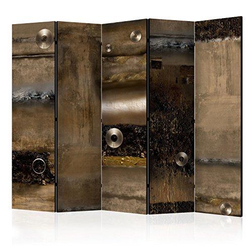 murando Paravent & Tableau daffichage en Liege: 225x172 cm Reversible Impression sur Papier intissé 100% Opaque Paravent decoratif pour Chambre Paravent en Bois avec Impression f-A-0386-z-c