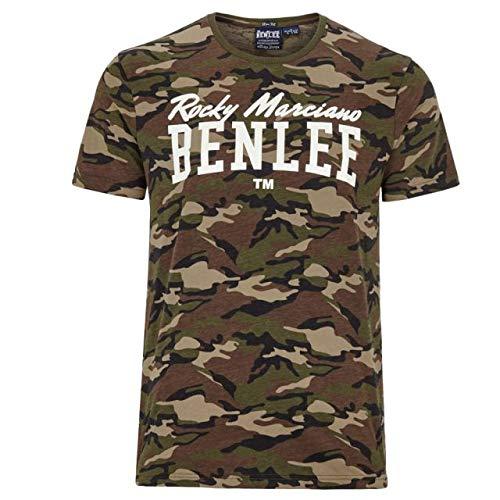BENLEE Rocky Marciano Herren Greensboro T-Shirt, Camo Woodland, XL