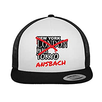 JOllify ANSBACH Trucker Cap Kappe Mütze – Design: Graffiti Streetart New York