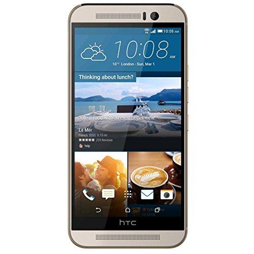 HTC One M9 Smartphone débloqué 4G (Ecran: 5 pouces - 32 Go - Simple Nano-SIM - Android 5.1 Lollipop) Or