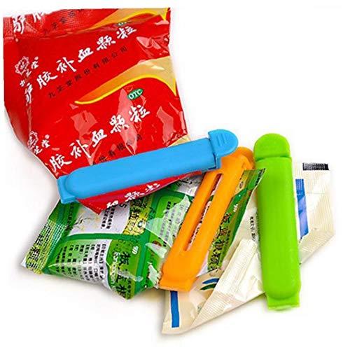 Clip 10pcs Almacenamiento Alimentos sellador Snack-selladoras