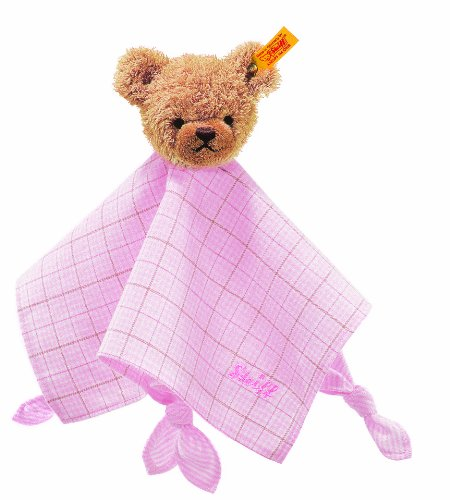 Steiff-Sleep-Well-Bear-Comforter-Pink-28cm