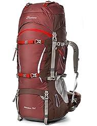 Mountaintop 70+10 Liter Erwachsene Trekkingrucksäck, 80 x 35 x 23 cm