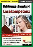 Bildungsstandard Lesekompetenz: Was 14-Jährige lesen und verstehen sollten!