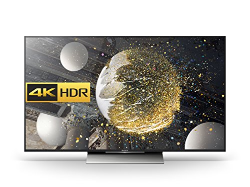 Sony Bravia KD55XD8005 55 inch Android 4K HDR Ultra HD Smart TV with TRILUMINOS Display, PlayStation Now and Google Cast (2016 Model) - Black (Certified Refurbished)
