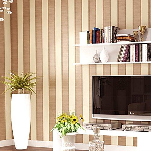 Zhzhco Einfache 3D Vertikale Streifen Wohnzimmer Modernes Sofa Schlafzimmer Tv Hintergrund Wand Papier Vlies Nicht-Ich Klebstoff 0,53 M * 10 M,C