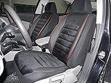 Sitzbezüge k-maniac | Universal Schwarz Rot | Autositzbezüge Set Komplett | Autozubehör Innenraum | Auto Zubehör für Frauen und Männer | No. 4 | Kfz Tuning | Sitzbezug | Sitzschoner