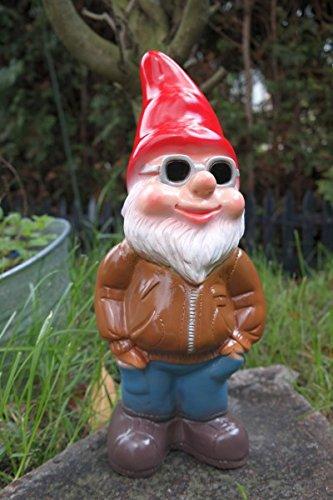 Gartenzwerg Cool Kai aus bruchfestem PVC Zwerg - Made in Germany Figur