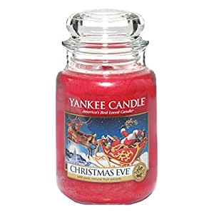 yankee candle christmas eve jar candle large yankee. Black Bedroom Furniture Sets. Home Design Ideas