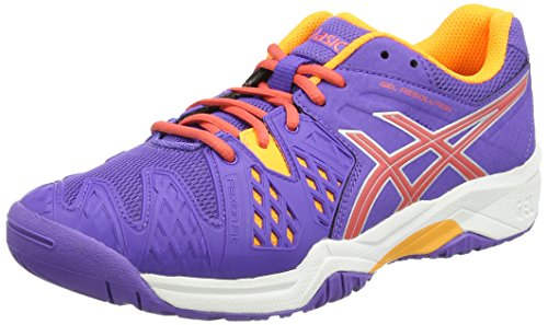 Asics Gel-Resolution 6 GS, Chaussures Multisport Outdoor Mixte Enfant