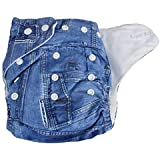 LUKZER (Pack Of 2 With 2 Liner) New Adjustable (for All Sizes) Reusable Lot Baby Washable Cloth Diaper Nappies For Babies Of Ages 0 To 2 Years, (Color May Vary)…