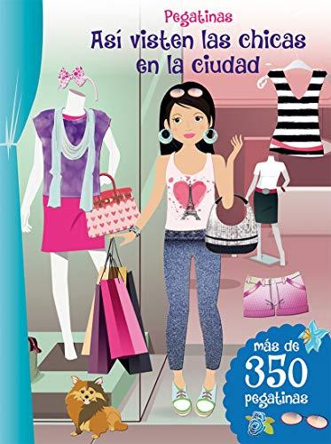 Pegatinas. Así Visten Las Chicas En La Ciudad (PICARONA)